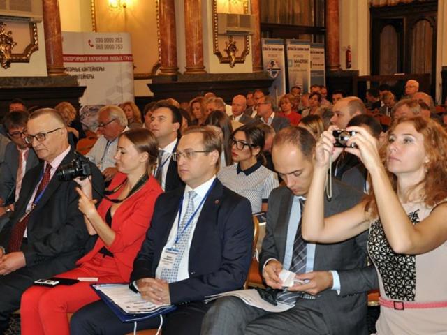 Участие в XI международном «Черноморском контейнерном саммите 2017»