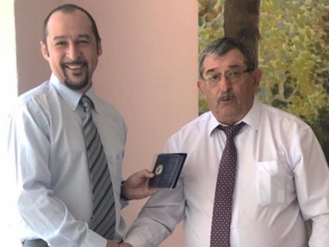 "On awarding the Technical Director of LLC ""TRANS-SERVICE-KTT"" V.L. PASHCHENKO"