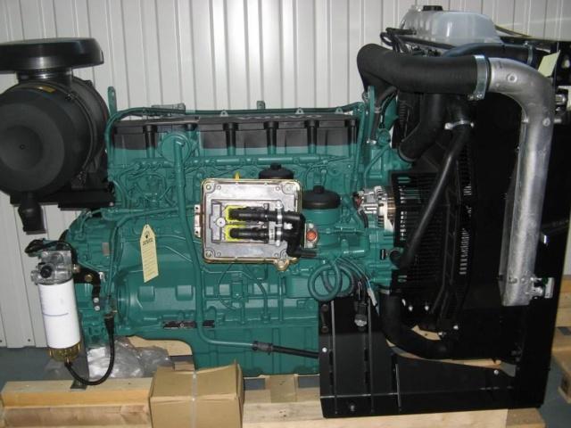 Поставка промышленного дизельного двигателя Volvo Penta TAD734GE